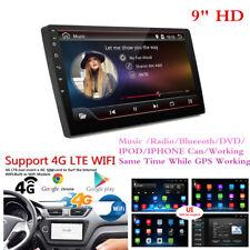 "9"" HD Android 7.1 SINGLE 1 DIN GPS per Auto Lettore Radio Stereo WiFi 3G/4G NO DVD"