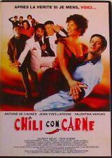 DVD CHILI CON CARNE - Antoine DE CAUNES / Valentina VARGAS / Gilbert MELKI