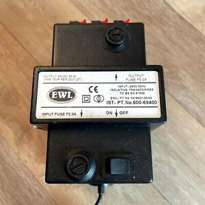 EWL Isolating Transformer 600-69400, Breweriana Man Cave Pub Bar, 1419001-00-00