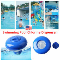 For Swimming Pool Spa Chemical Floating Tablet Applicator Chlorine Dispenser-RO