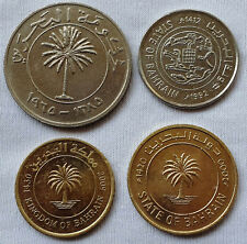 BAHRAIN 4 DIFF.  SUPER CONDITION COINS