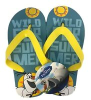 Disney Frozen Olaf Kids Children Boys Girls Flip Flops Sandals Slippers Size 10