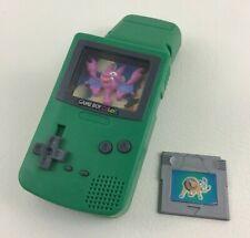 Nintendo Game Boy Color Bat Green Game Toy 2000 Burger King Kids Club Meal Toys