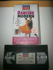 W.H.Smith Exclusive. LET'S GET DANCING VHS VIDEO. Ballroom Dancing Instructional