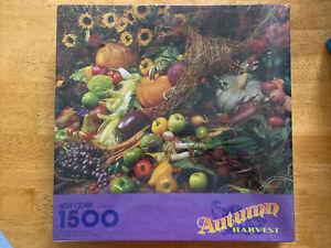 NEW Vintage Springbok Autumn Harvest PZL9022 1500 pieces