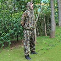 3D Ghillie Suit woodland Dschungel Tarnanzug Kleidung Camo Camouflage Jagd