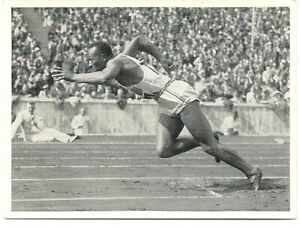 Jesse Owens - Olympics Berlin 1936 - Pet.Cramer card - Original 1936 - rare item