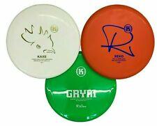 Kastaplast Disc Golf Disc Set With Kaxe K3 Reko K3 Grym K1 - PDGA Approved