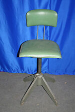 Arbeits Dreh Stuhl Industrie Design Vintage Steel Work Chair Bar Industrial