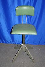 Arbeits Dreh Stuhl Industrie Design Vintage Steel Work Chair Bar Industrial
