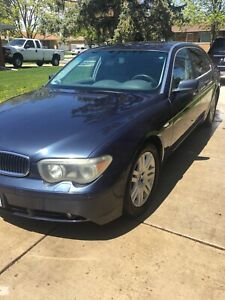 BMW 745li 2002 very good condition no need fixing just buy and drive