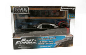 Modellino auto film movie DOM'S DODGE CHARGER RT FAST and & FURIOUS scala 1:24