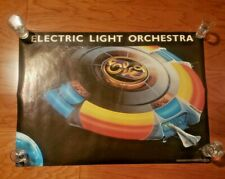 Vintage 1977 Original Elo Electric Light Orchestra Poster by Pro Arts, Rare