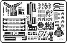 Ship Vessels Detail Update PE 1/700 048 for North Carolina-class battleship