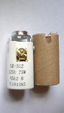 """1 9/16"""" KEYLESS PORCELAIN CANDLE CANDELABRA BASE SOCKET w/ HICKEY & INSULATOR"""