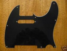PICKGUARD BLACK 3 PLY FOR TELECASTER
