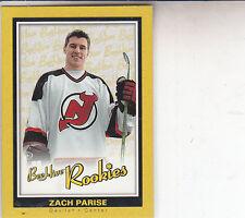 ZACH PARISE 2005-06 BEEHIVE RC