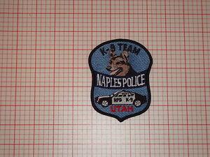 Naples Utah Police K9 Patch