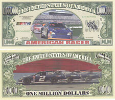 Two American Racer Stock Car Racing Finish Line Win Novelty Money Bills Lot #49