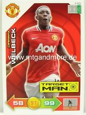 Adrenalyn XL Manchester United 11/12 - #110 Danny Welbeck - Target Man