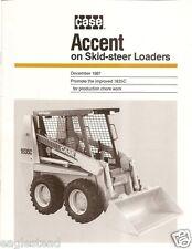 Equipment Brochure - Case - 1835C - Skid Steer - 1987 (Eb502)