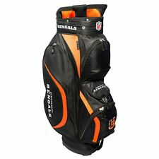 New Team Golf Nfl Cincinnati Bengals Clubhouse Golf Cart Bag