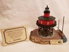 Harbour Lights 521 Seven Foot Knoll, Md Lighthouse, Coa, c.1999