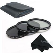 3pcs 55mm Neutral Density ND2 ND4 ND8 ND 2+4+8 Filter Set 55 mm Kit New