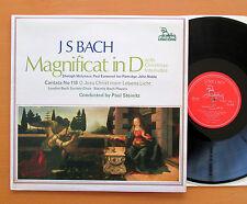 UNS 248 JS Bach Magnificat in D London Bach Society Paul Steinitz Unicorn NM/EX