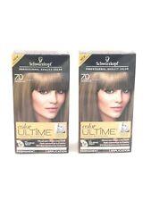 Schwarzkopf Color Ultime Hair Color Cream 7.0 Dark Blonde Lot of 2 Kits