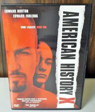 *New* ~ American History X ~ Dvd Movie & Case Ed Norton, Edward Furlong