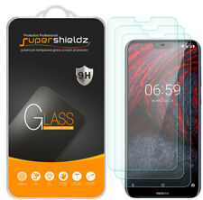3X Supershieldz Tempered Glass Screen Protector for Nokia X6 (2018)
