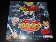 Dragon Ball Z Hero Collection Box vide Part 1 officielle Rare DBZ cartes Card