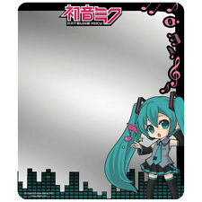 Hatsune Miku Magnetic Locker Mirror Chibi Pose W/ Music Notes