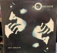 ROY ORBISON  MYSTERY GIRL LP 1989 VIRGIN 91058 GATEFOLD INNER PROMO