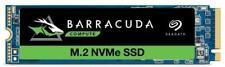 Seagate BarraCuda 510 250GB PCIe NVME M.2 SSD 250GB Capacity ZP250CM3A001
