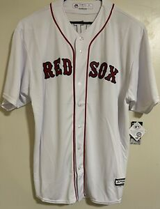 New Majestic David Ortiz Boston Red Sox Cool Base Jersey MLB Home Sewn Size 3XL
