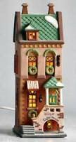 SPRING ST COFFEE HOUSE # 58809 WEST VILLAGE SHOPS DEPT 56 Christmas in the City