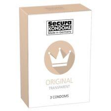 Preservativi Profilattici condom 3 pz sottili preservativo lubrificato kondome s