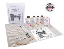 South Bend Lathe Model 10l Full Rebuild Package Manual Felt Oil Grease