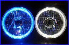 "Toyota Landcruiser 45 47 55 70 75 series BLUE LED Halo 7"" Round headlights"