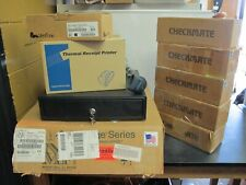 Lot of Point of Sale Items: Readers, Cash Drawers, Receipt Printer, Upc Scanner