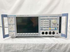 Rohdeampschwarz Upv B3k4 Audio Analyzer