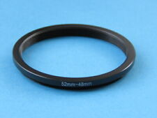 52mm to 48mm Stepping Step Down Ring Camera Lens Filter Adapter Ring 52-48mm