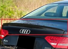 Audi A5 07-15 Sportback 5D rear Trunk Spoiler Lip S5 tail duck bill duckbill rs