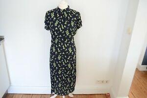 NEU! UVP 179,-€ STORM & MARIE Sommerkleid 38 BBluemn Print Midi Kleid