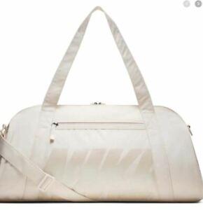 NIKE Gym Club 30L Gray Phanton  Training Duffel unisex bag - White- BA5490-030