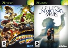 neighbours from hell & a series of unfortunate events  PAL FORMAT XBOX ONLY
