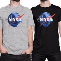NASA DEATH STAR Star Wars Humor T-shirt Men