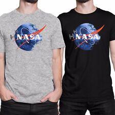 NASA DEATH STAR Star Wars Humor T-shirt Men